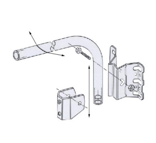 1005 Universal Wall and Pole Bracket