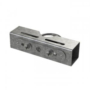 4863 Single Flood Light Bracket for 101mm to 114mm Column Shafts