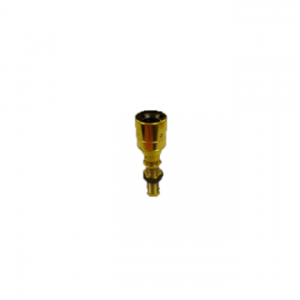 CR Brass ES Lamp Holder With Stem to fit AVG gallery on pedestrian crossing post