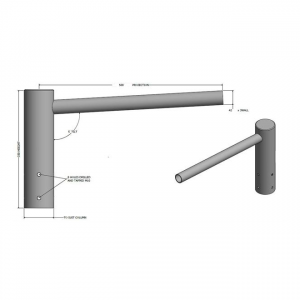 CRA 1 Single Arm Bracket