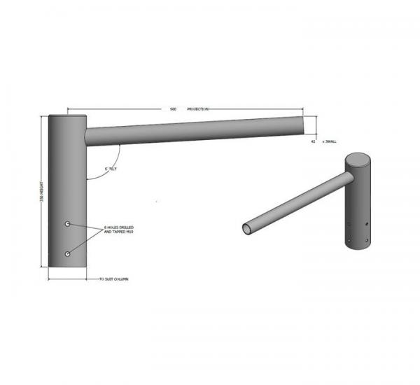 CRA 1 Single Arm Bracket