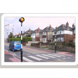 Pedestrian Crossing Post
